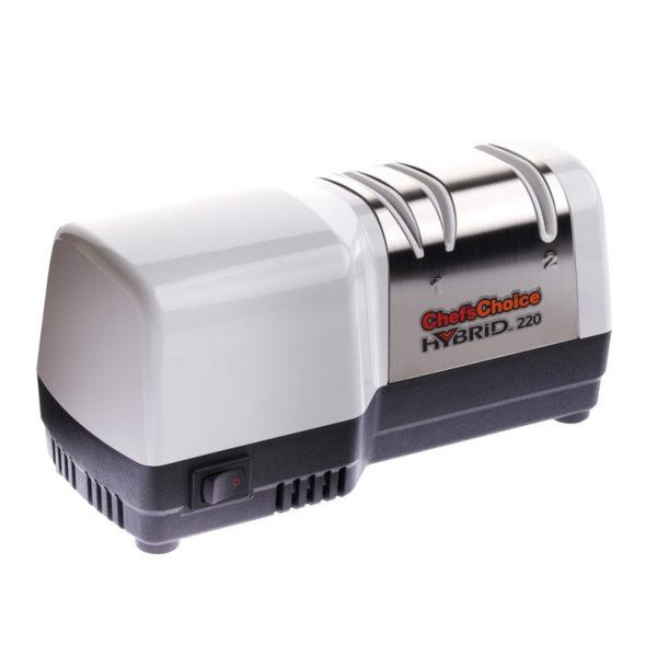 Электрическая точилка для европейских кухонных ножей Chef'sChoice 220. Официальный сайт ChefsChoice. Бесплатная доставка всех заказов!