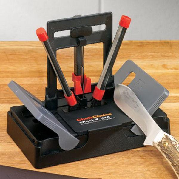 Механическая точилка для ножей Chef'sChoice CH/415. Официальный сайт ChefsChoice. Бесплатная доставка всех заказов!