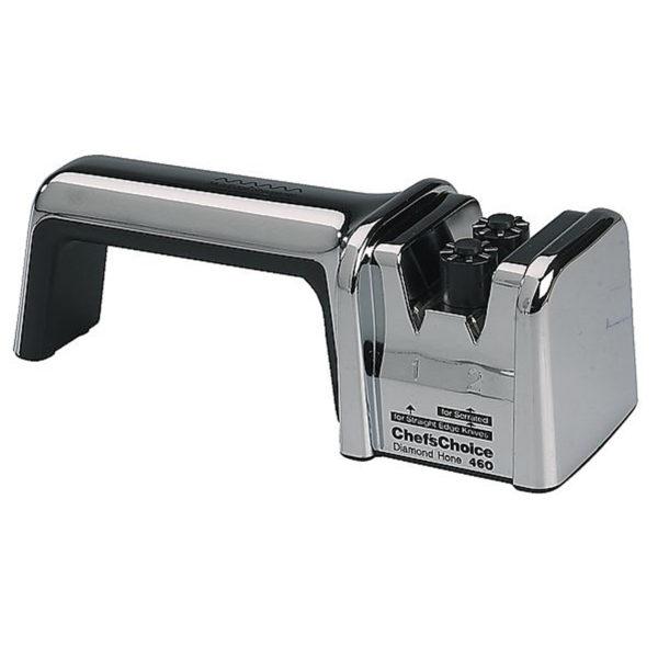 Механическая точилка для европейских кухонных и складных ножей Chef'sChoice 460. Официальный сайт ChefsChoice. Бесплатная доставка всех заказов!